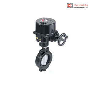 شیر کنترل چرخشی هانیول مدل پروانه ای موتوری تدریجی V4ABFW16-150-112
