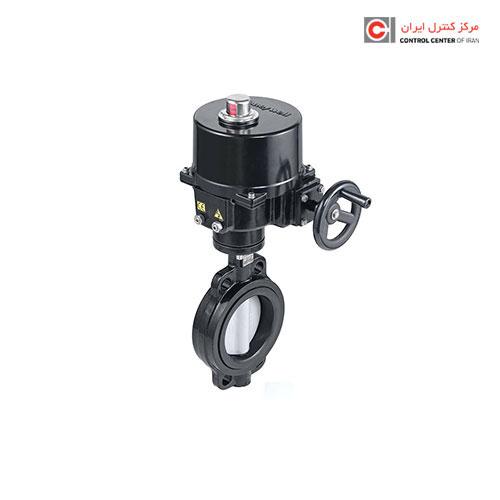 شیر کنترل چرخشی هانیول مدل پروانه ای موتوری قطع و وصلی V4ABFW16-500-012