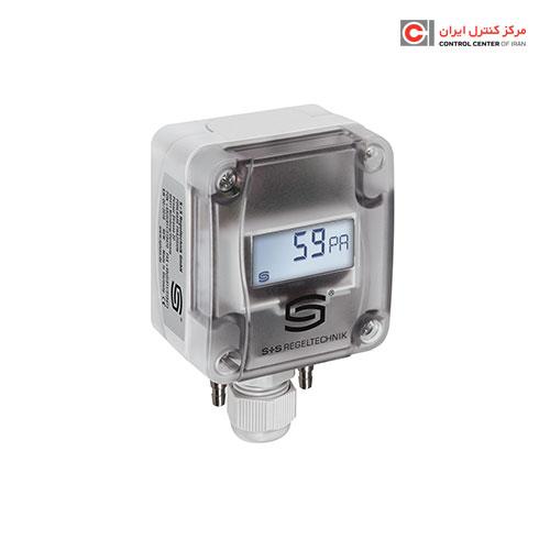 ترانسیمتر اختلاف فشار هوا S+S مدل PREMASGARD 1121-U LCD