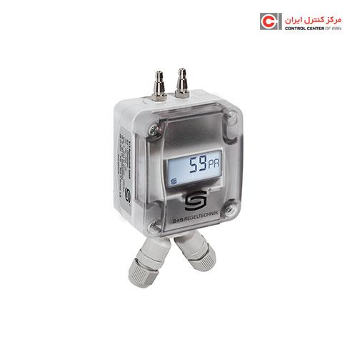 ترانسیمتر اختلاف فشار هوا S+S مدل PREMASGARD 1211-M LCD