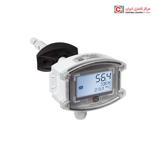 ترانسمیتر دما و رطوبت S+S مدل کانالی KFTF-20-U TYR-2 LCD