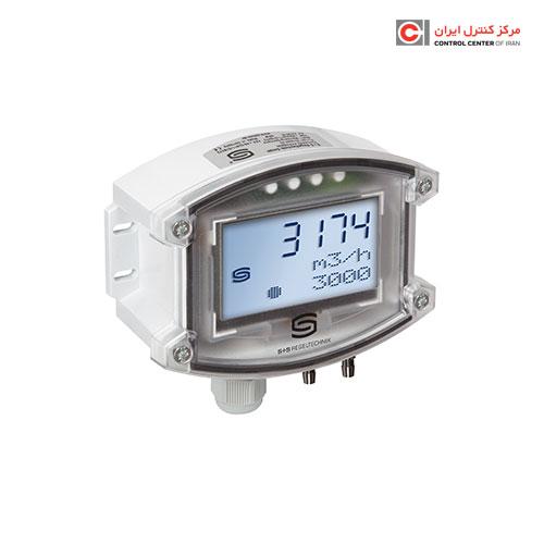 ترانسمیتر جریان حجمی هوا S+S مدل PREMASREG 7161-U LCD