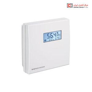 ترانسمیتر دما و رطوبت S+S مدل اتاقی RFTF-U LCD